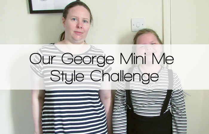 Our #GeorgeMiniMe Style Challenge
