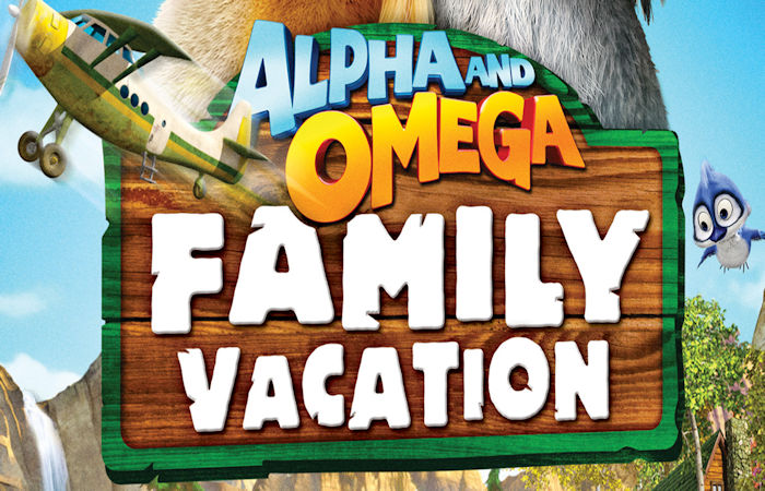 Alpha and Omega: Family Vacation DVD Review & Giveaway