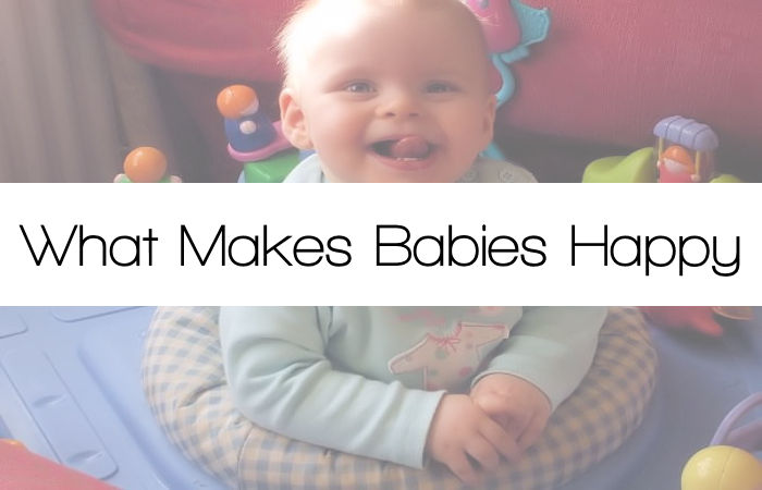 What Makes Babies Happy #SoundofHappy
