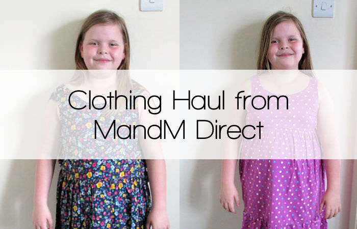 Clothing Haul from MandM Direct