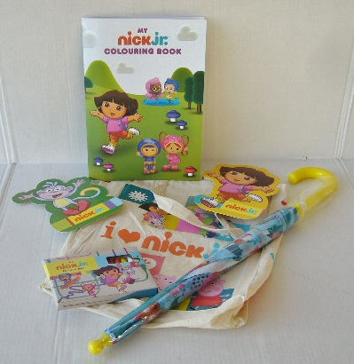 nick jr goody bag photo