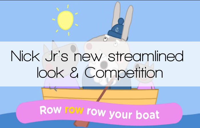 Nick Jr. has a new streamlined look & Competition