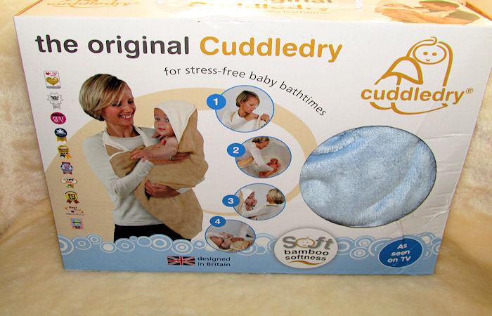 The Original Cuddledry Handsfree Baby Bath Towel