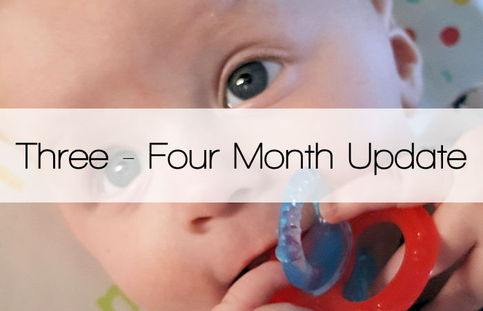 Three – Four Month Update