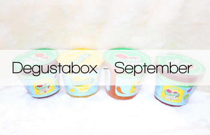Degustabox September 2016