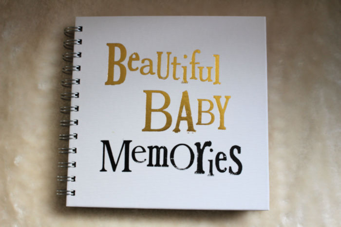 Beautiful Baby Memories Scrapbook & Hamper Giveaway