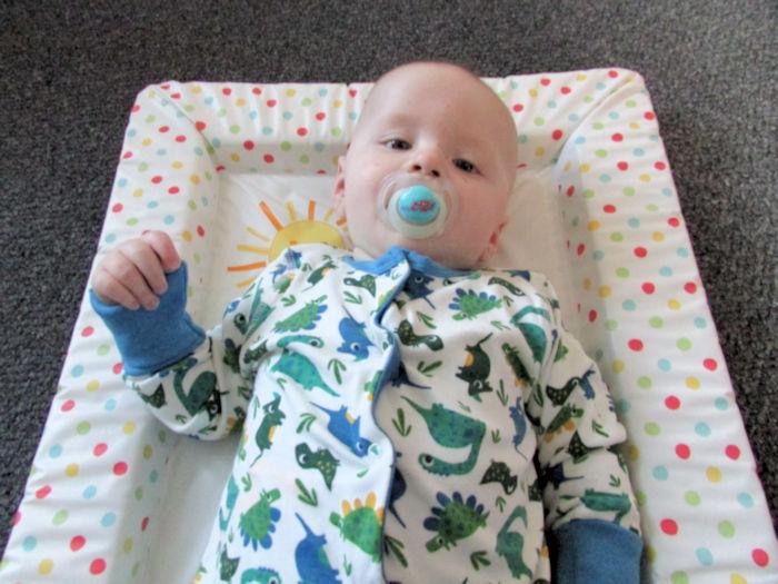 Frugi Dinosaur Babygrow