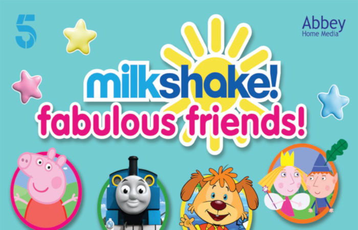 Milkshake! Fabulous Friends! DVD Review & Giveaway