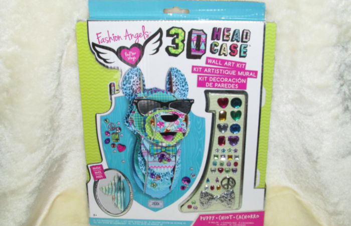 Fashion Angels 3D Head Case Puppy Wall Art Kit & Giveaway