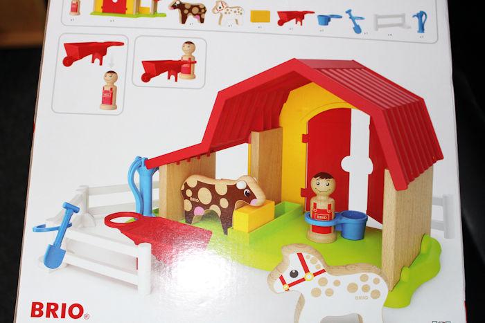 Brio Farm Set