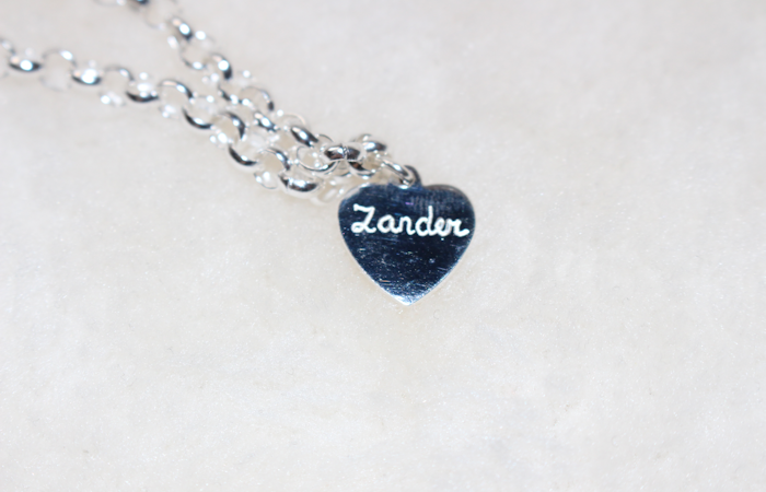 Personalised Silver Chain Bracelet from KAYA Jewellery