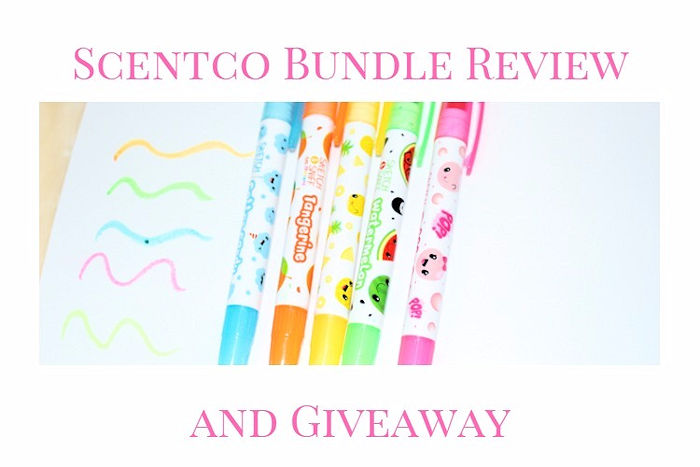 Scentco Stationery Review and Giveaway