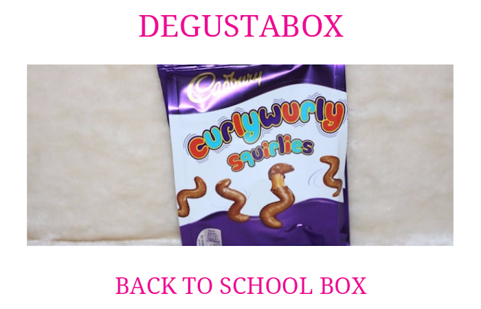 Degustabox Back To School Box