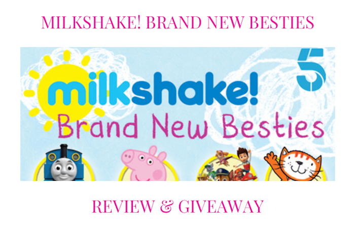 Milkshake! Brand New Besties DVD Review & Giveaway