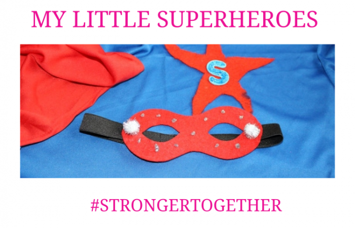 My Little Superheroes #strongertogether