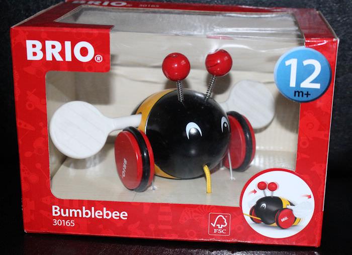 Brio Pull Along Bumblebee