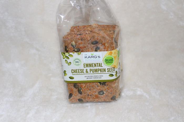 Dr Karg's Organic Emmental Cheese & Pumpkin Seed Crispbread