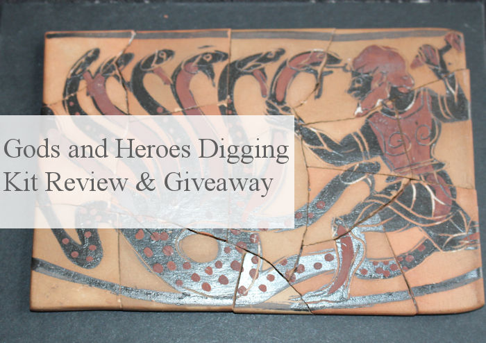 Gods and Heroes Digging Kit Review & Giveaway