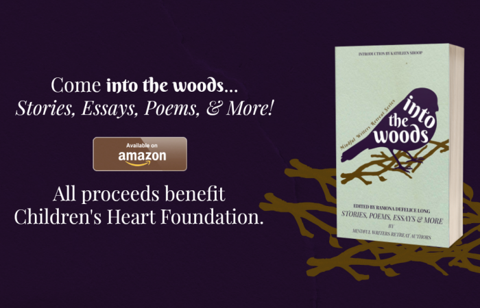 Into the Woods Book – 100% of  proceeds goes to The Children's Heart Foundation