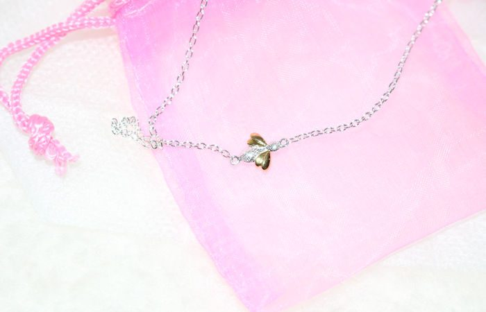 Honey Bee Necklace from Molly Brown London