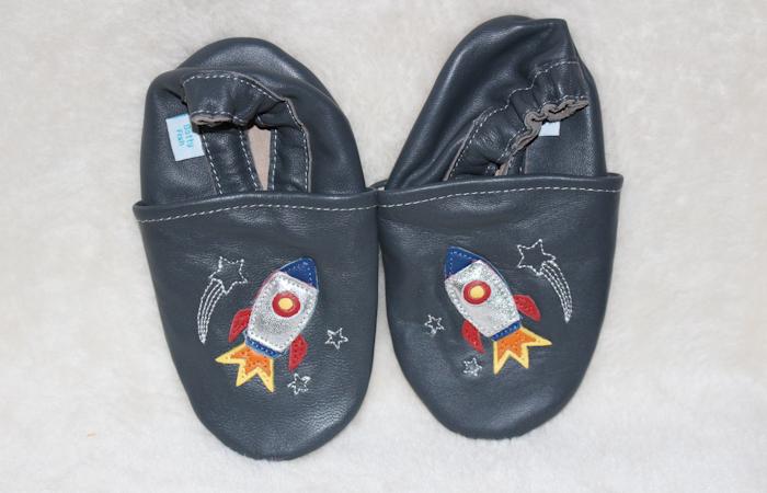 Dotty Fish Blast Off! Rocket Ship Shoes
