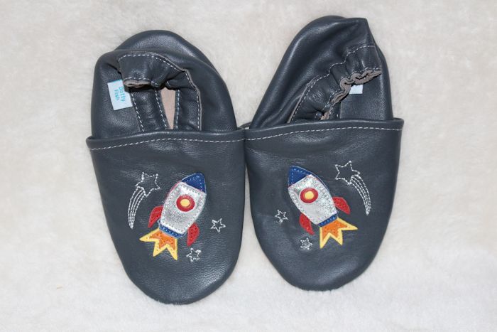 Dotty Fish Blast Off! Rocket Ship Shoes