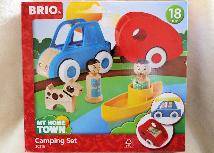 BRIO My Town camping set