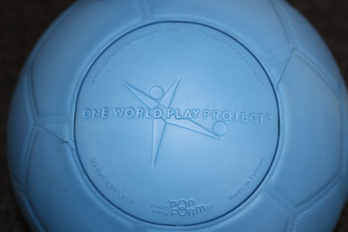 One World Futbol Review & Giveaway