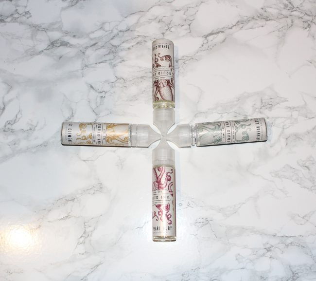 Squid Inc e-liquid set cross