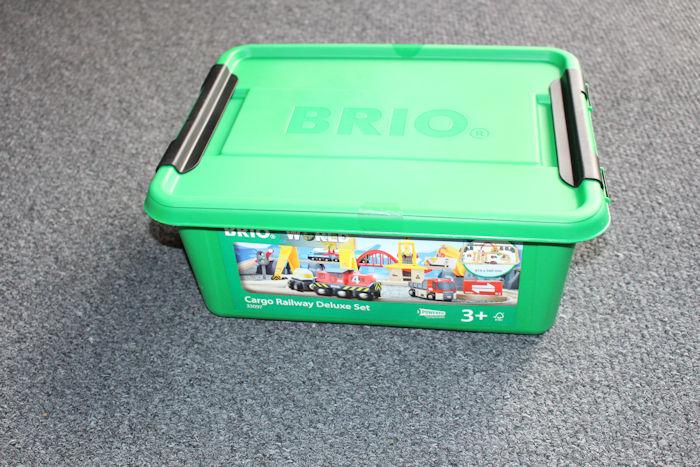 Brio Cargo Railway Duluxe Set Box