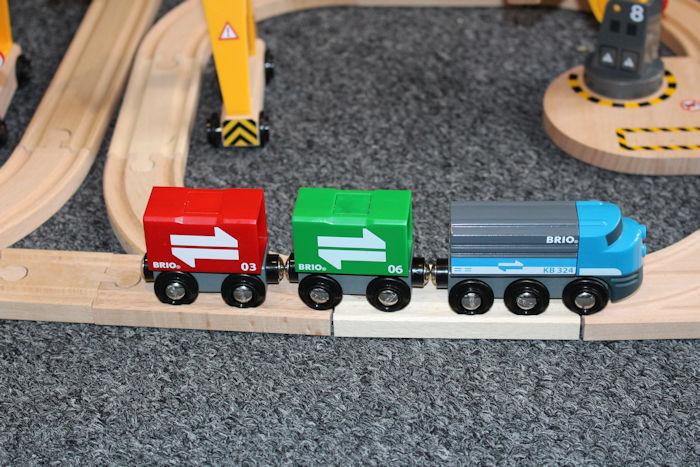 Brio Cargo Railway Duluxe Set cargo