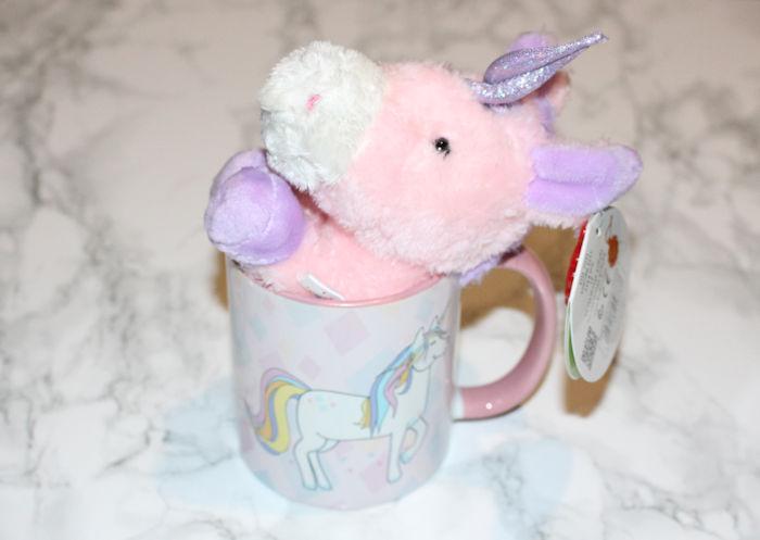 Unicorn teddy in mug