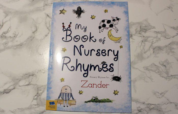 Personalised My Book of Nursery Rhymes Cover