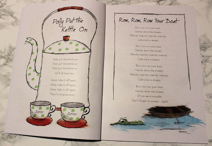My Book of Nursery Rhymes Polly Personalised
