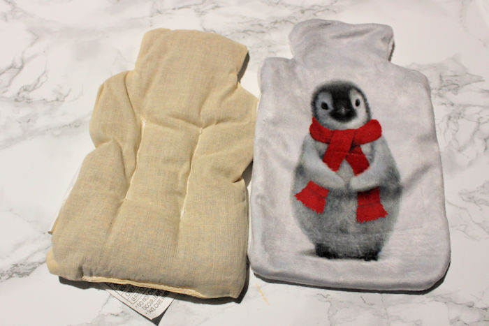 Cancer Research Winter Penguin Hottie wheat bag