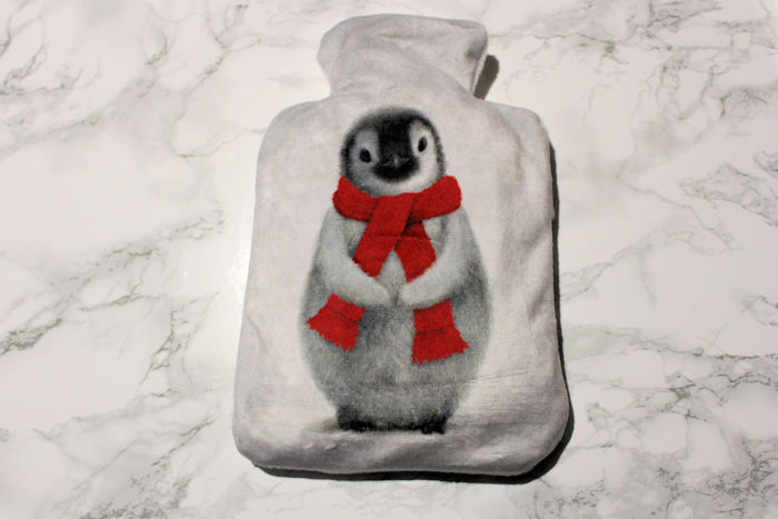 Cancer Research Winter Penguin Hottie