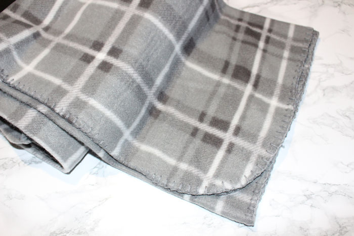Cancer Research Soft Fleece Throw