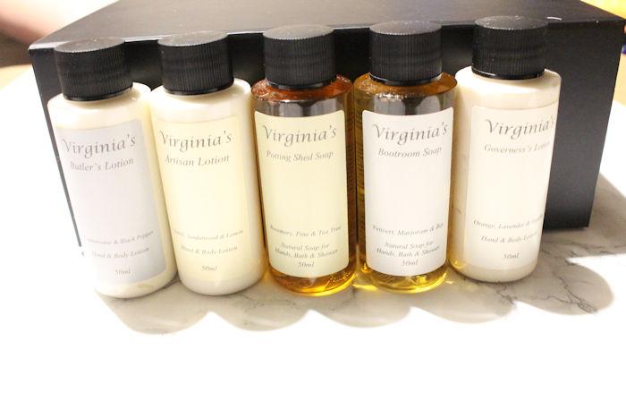 Virginia Coram Travel Sized bottles
