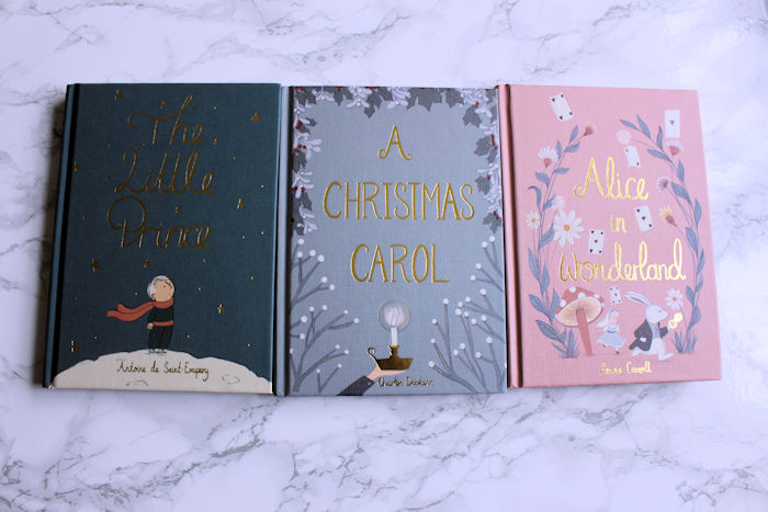 Collectors Editions A Christmas Carol, Alice in Wonderland , The Little Price Front Covers