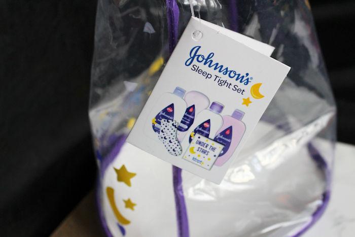 Johnson's Sleep Tight Gift Set label