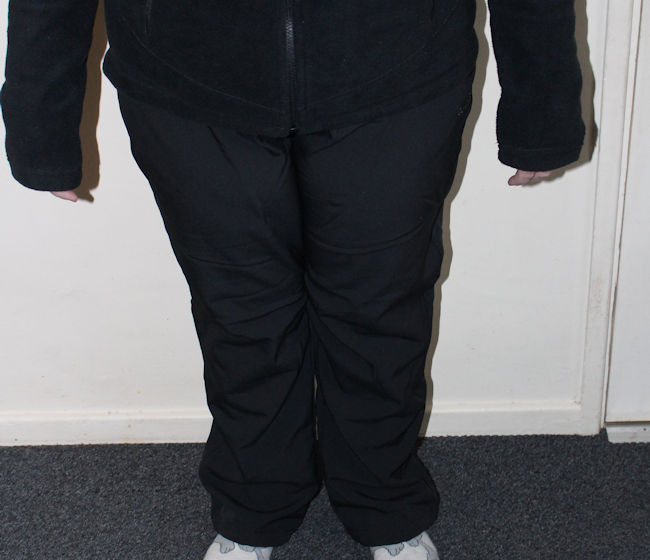 walking clothes Peter Storm SoftShell Trousers