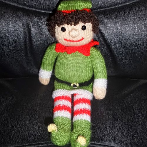 Knitting Pattern For Bernard The Elf : Our Elf is not on the shelf