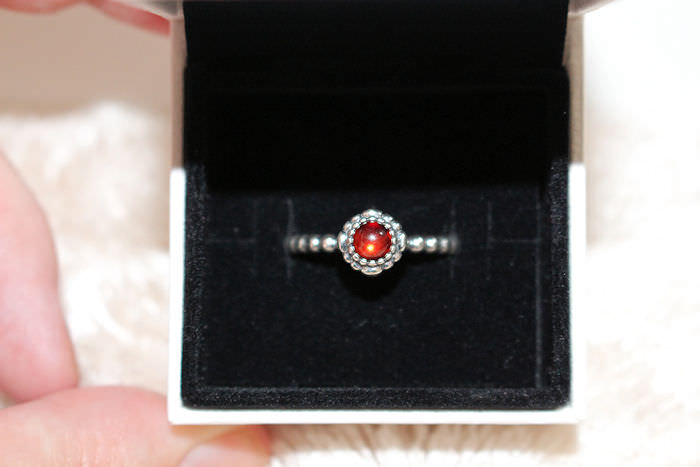 a383351f1 Pandora Birthstone Ring