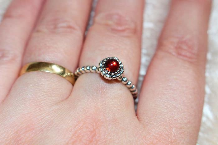 Pandoras Birthstone Rings