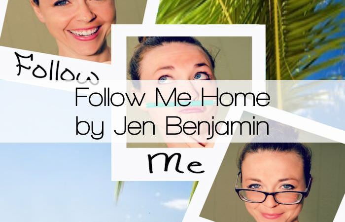 follow me home by jen benjamin. Black Bedroom Furniture Sets. Home Design Ideas