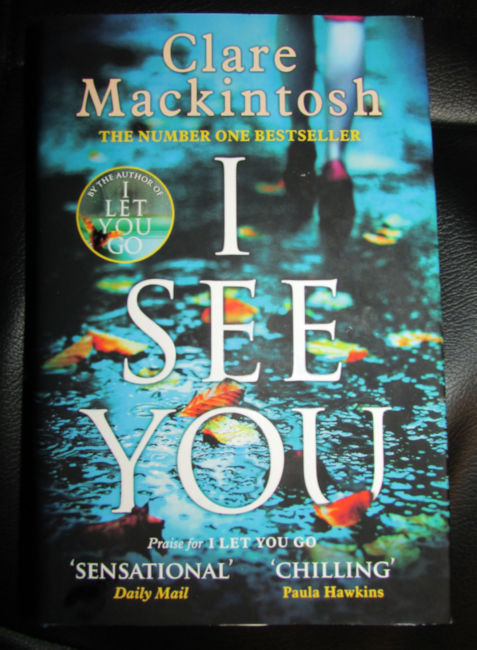 clare mackintosh i see you review